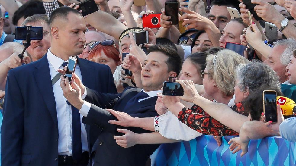 Reality bites: Ukraine's President Zelensky puts showbiz pals in positions of real power