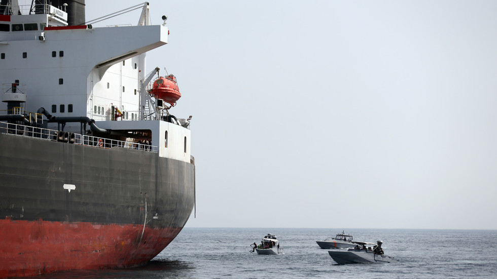 Pentagon claims Iran's Revolutionary Guards behind ship 'sabotage' off UAE coast as Abu Dhabi mum