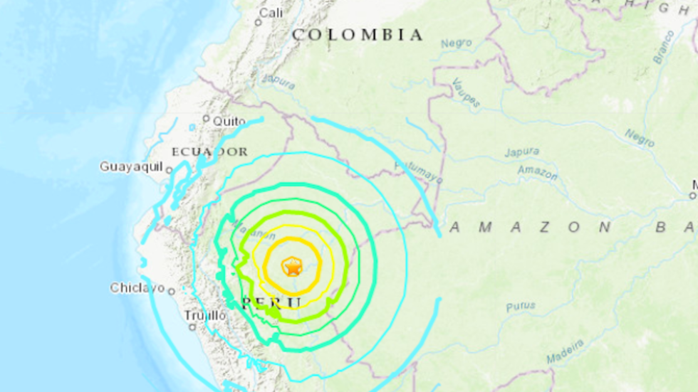 Northern Peru rocked by 8.0-magnitude earthquake – USGS (PHOTO, VIDEOS)