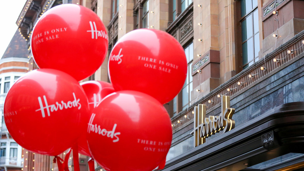 Next level retail therapy: Wife of jailed banker spent £16 MILLION on decade-long Harrods spree