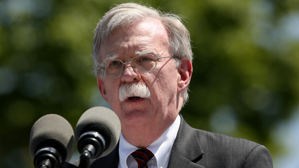 Bolton says Iran behind oil tanker attack off UAE...'almost certainly'