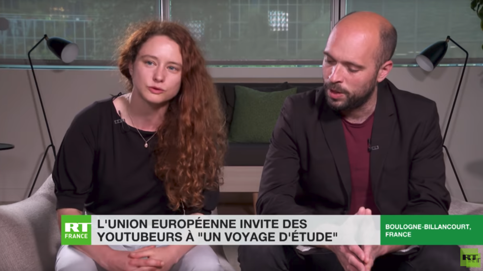 French bloggers feel like in Orwellian novel as Brussels teaches them to promote 'EU angles'