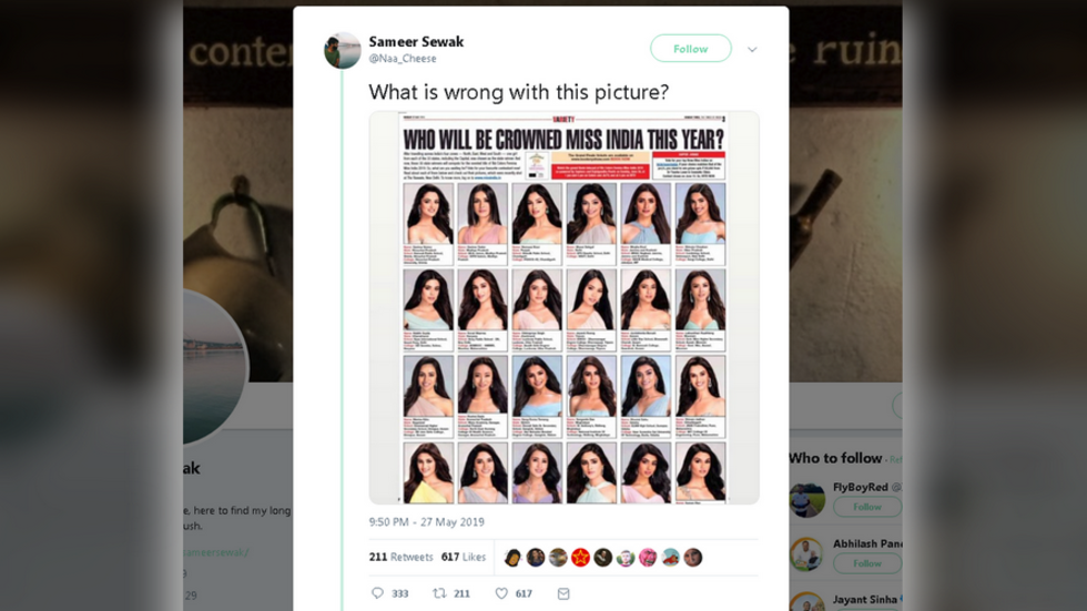 'Are they clones?' Internet baffled with Miss India contestants all looking fair & lovely