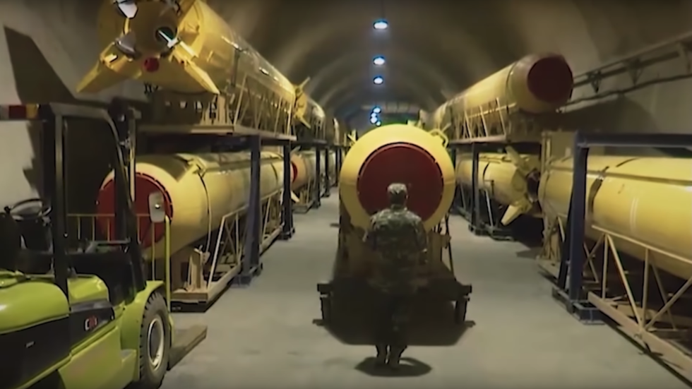 Iran showcases MASSIVE underground bunker & launch of a missile in a new VIDEO