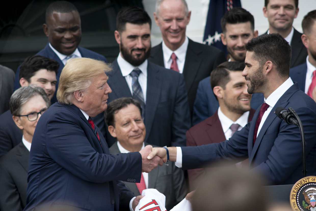 Trump takes credit for Red Sox success after White House visit