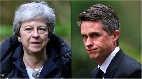 'Negotiating with the enemy': Sacked Def Sec Williamson blasts May's Brexit talks with Labour
