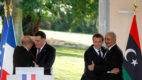 Macron wants to meet Haftar to push ceasefire in Libya – French FM Le Drian