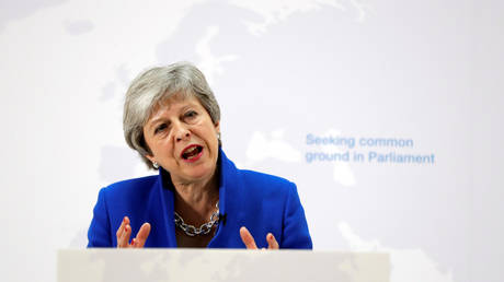 Theresa May offers vote on second referendum if MPs back 'new' Brexit deal
