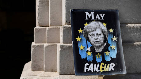 End of days for Theresa May? New Brexit deal torn to shreds by Tories & UK media