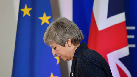 British PM Theresa May to step down on Friday amid cabinet revolt over Brexit plan - report