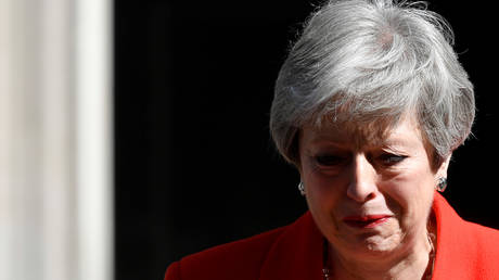 'No ill will but enormous and enduring gratitude': May breaks down after resignation address (VIDEO)
