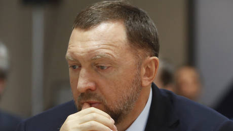 Russian tycoon Oleg Deripaska (FILE PHOTO)
