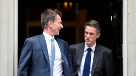 Hunt supports Williamson's sacking while Labour condemns govt for failing to 'sort out their mess'