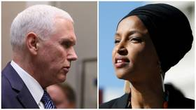 VP Pence says Rep. Omar prefers socialism to freedom in latest attack
