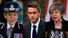 You deal with him! No, you deal with him! UK police & govt in standoff over Williamson