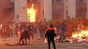 Still no justice: Ukraine marks anniversary of deadly post-Euromaidan clashes in Odessa