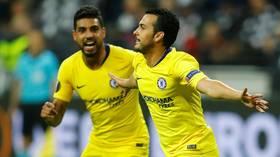 Eintracht Frankfurt 1-1 Chelsea: Pedro rocket gives Blues crucial away goal in Europa League semi