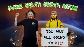 #ICYMI: Make Earth Greta Again: Pigtailed teenage environmentalist dares you to disagree