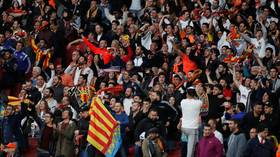 'Shocking and inexcusable': Valencia fans condemned for Nazi salutes and monkey gestures at Arsenal