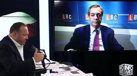 Rebelling against 'globalism' & a 'new world order' doesn't make Farage an 'anti-Semite'