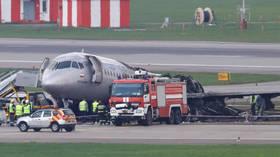 Landing of Superjet-100 was not declared emergency until fiery crash-landing – airport