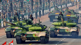 Future guardians of India's borders: Behind the armor of Russian-designed T-90 tanks