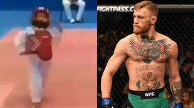 Mini Mac: Conor McGregor shares hilarious clip of youngster copying his famous strut (VIDEO)