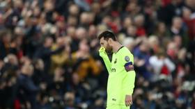 Inconsolable Messi 'broke down in tears' in Barca dressing room after shock Liverpool defeat