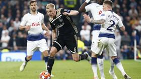 Ajax v Tottenham: Spurs pull off incredible Champions League semi-final comeback (RECAP)