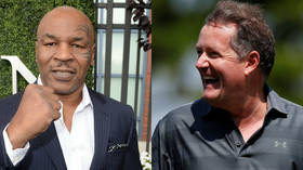High & mighty: Mike Tyson smokes marijuana with Piers Morgan on boxing legend's podcast (VIDEO)