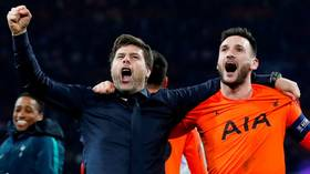 'Heroes': Spurs boss Pochettino breaks down in tears after Champions League triumph (VIDEO)