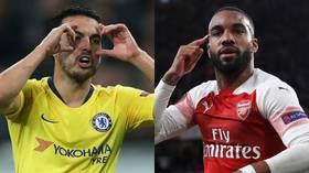 Baku-bound: Chelsea and Arsenal seal all-English Europa League final (RECAP)