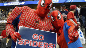 'Give love': Filipino 'Spider Man' jailed for storming basketball game, hurting player (VIDEO)