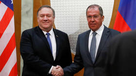 Pompeo says Trump wants to improve Russia relations as talks with Lavrov begin in Sochi