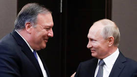 'Putin smiles': Russophobic media is having none of Pompeo's diplomacy trip