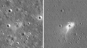 'We scratched the Moon alright!' NASA releases Israeli lander crash site PHOTOS