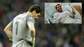 Goalkeeping great Iker Casillas to 'retire from football' following heart attack