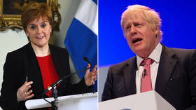 'Complete & utter charlatan': SNP's Sturgeon claims prospect of Bojo as PM will 'horrify' Scotland