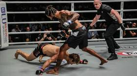 Gone in 29 seconds! Ex-UFC Sage Northcutt KOd with first punch in ONE Championship debut (VIDEO)
