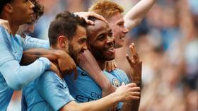 Six appeal: Manchester City hammer Watford 6-0 in the most one-sided FA Cup Final in over 100 years
