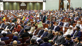 Afghan lawmaker attempts to stab opponent in parliamentary chaos (VIDEO)
