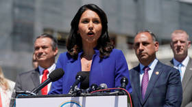 Democrat Tulsi Gabbard fends off 'fake news' accusations of Russian support