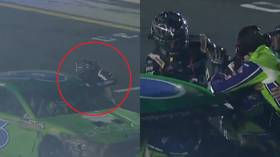 Nascar driver throws punches at opponent during All-Star Race (VIDEO)