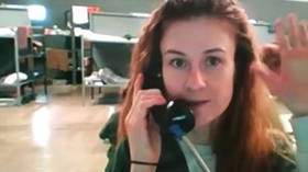 'Russians don't surrender': Butina asks for help to fight injustice in video address from US prison