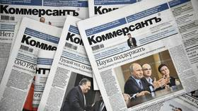 Journalists quit Russia's top business paper after controversial article