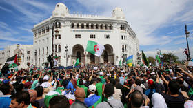 Algeria's armed forces chief urges protesters to accept July poll