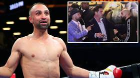 'I'm gonna p*ss in your toothless mouth': Malignaggi spits at Lobov at expletive-laden presser
