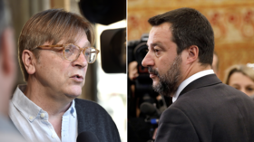 'You're getting worried': Verhofstadt mocked for challenging Salvini to debate