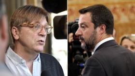 'You're getting worried': Verhofstadt mocked for challenging Salvini to debate
