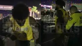 NFL star Ezekiel Elliott handcuffed after altercation with Las Vegas security guard (VIDEO)